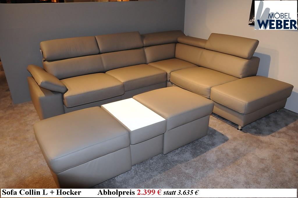 Sale bei m bel weber ausstellungsm bel g nstig kaufen for Sofa karlsruhe