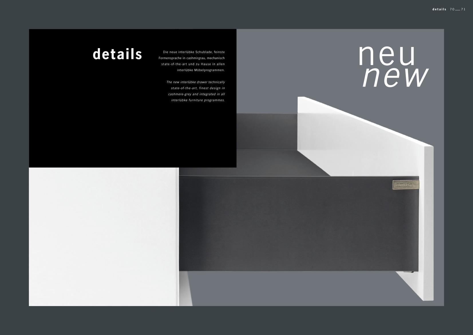 interluebke lookbook 2017 gs 34 m bel weber neustadt landau karlsruhe. Black Bedroom Furniture Sets. Home Design Ideas