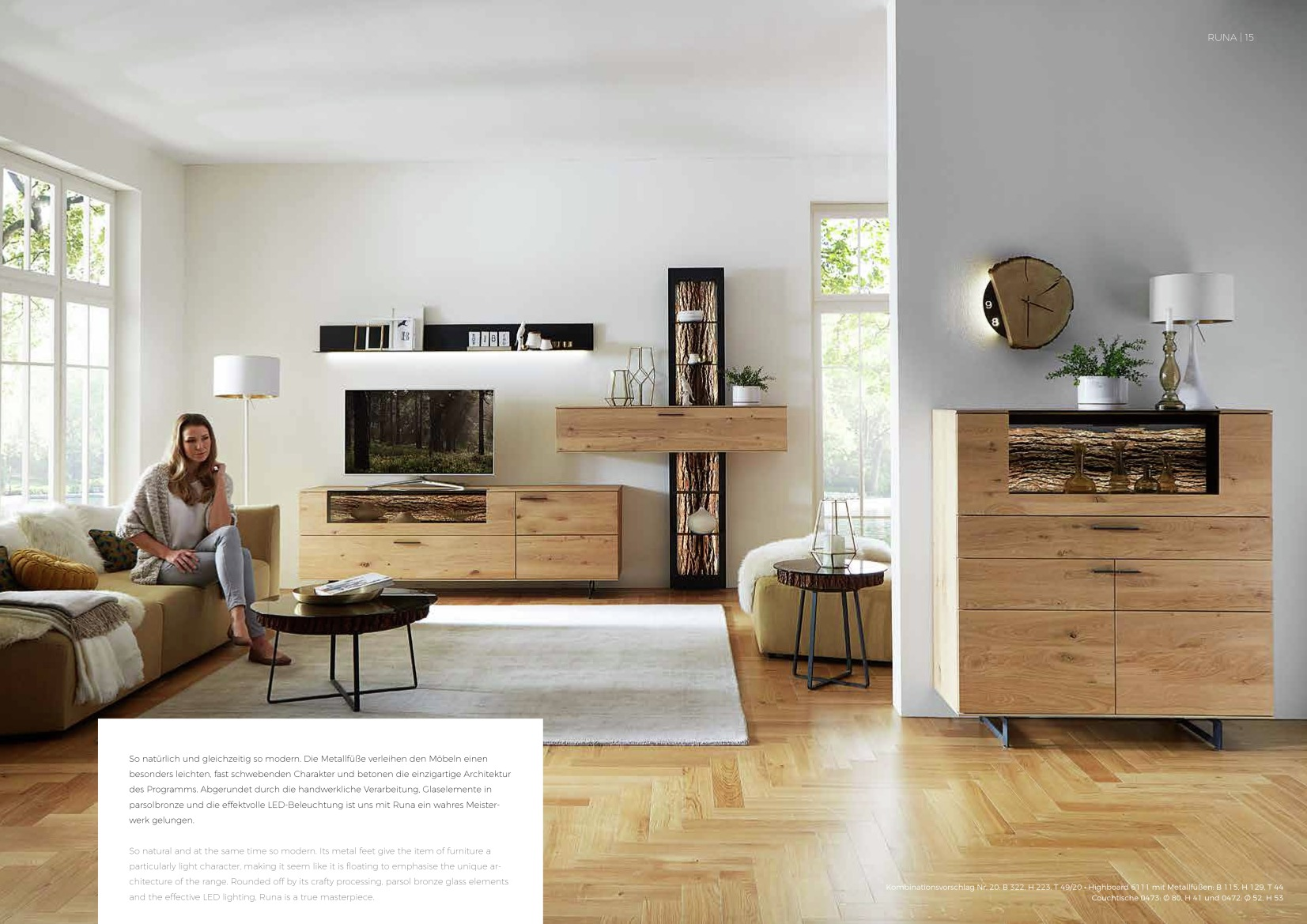 hartmann farbprospekt runa 7 m bel weber neustadt landau karlsruhe. Black Bedroom Furniture Sets. Home Design Ideas